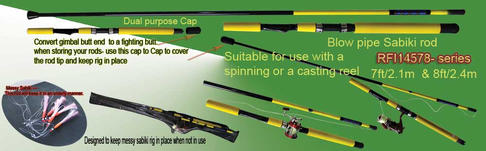 Osprey Special Application Rods Sabiki Rods And Inline Rods Squid
